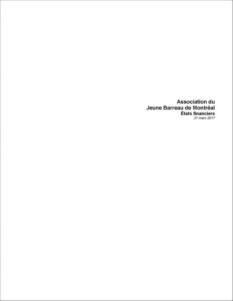 Pages from États financiers audités finaux - Jeune barreau de Montreal FS Mar 17 - 603347 (MNP)