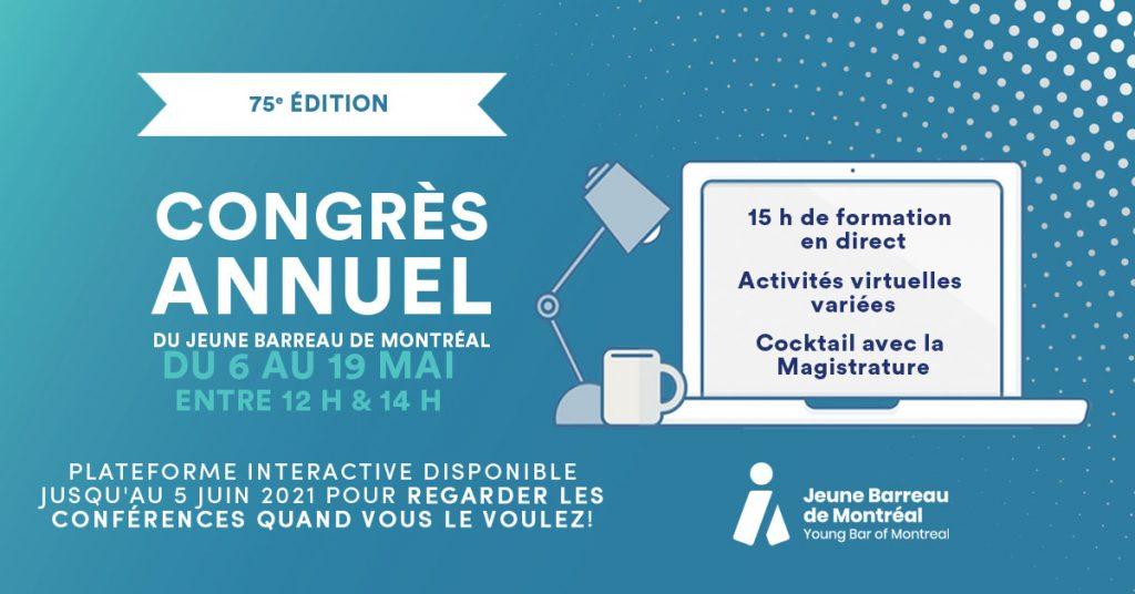 Congrès annuel du JBM 2021